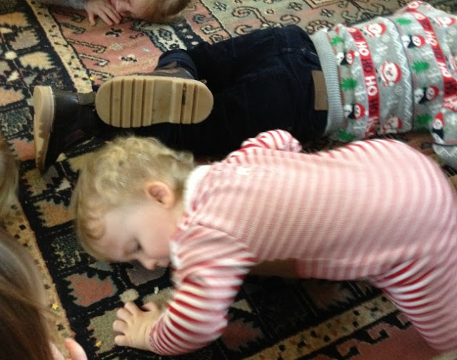 toddler lying down, aww so cute