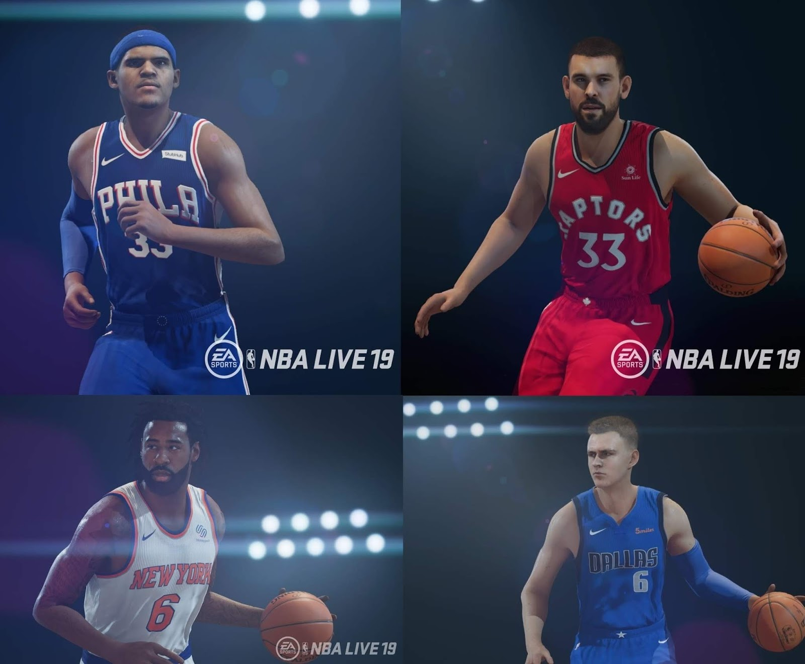 bd4685a48aa9 NBA Live 19 - Patch 1.09 with Updated Trade Deadline Rosters ...