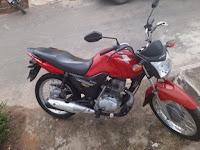 Moto roubada - Barra da Estiva