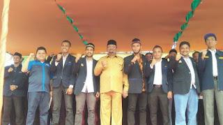 Bupati Saifannur Lantik Pengurus Karang Taruna Bireuen, Murdani Ketua Umum