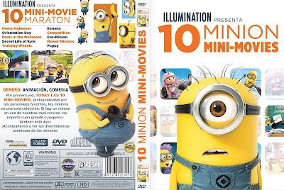 CARATULA - 10 MINION MINI-MOVIE - 2019