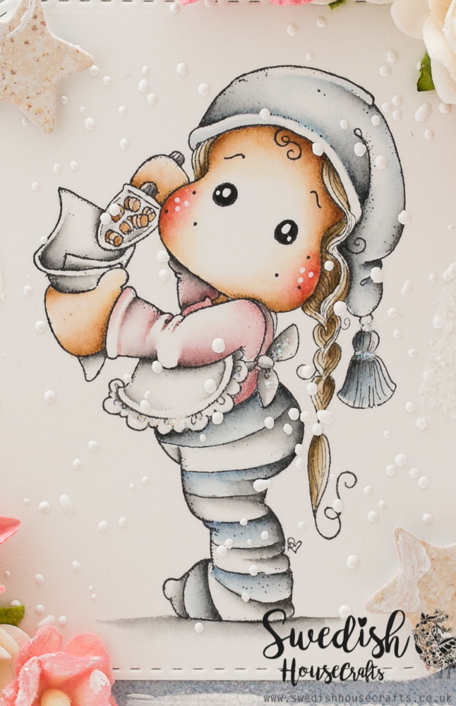 Handmade by Tamara: Christmas Caramel Tilda ♡ Swedish House Crafts DT