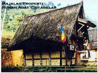 Desain Bentuk Rumah Adat Ciptagelar dan Penjelasannya, kampung Adat Indonesia