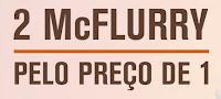 Compre um McFlurry ganhe um sorvete no McDonald's