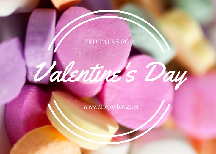Ted Talks for Valentines Day Header Image