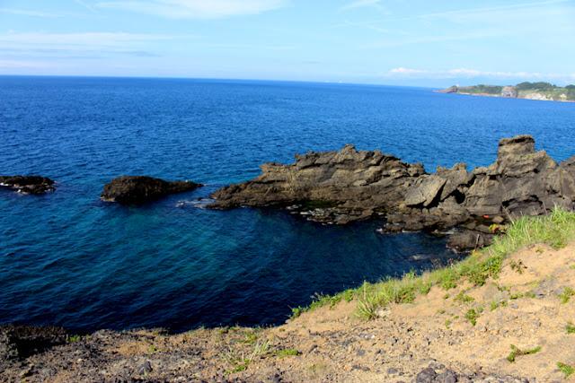 鋳釜崎の海岸