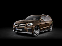2012 all new Mercedes GL-class luxury suv offroad official media photo