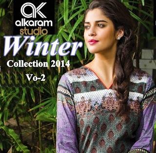 Alkaram Winter Glamorous 2014-15 Vol-2