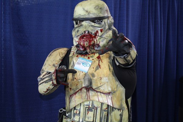 Zombie storm trooper star wars