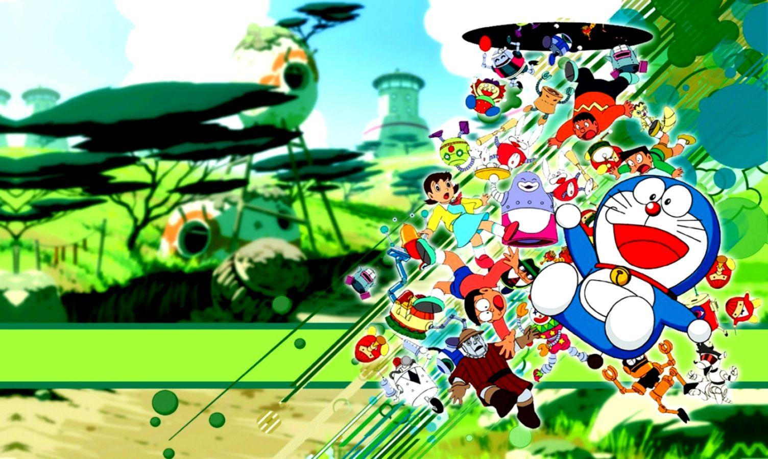 Gambar Doraemon Full