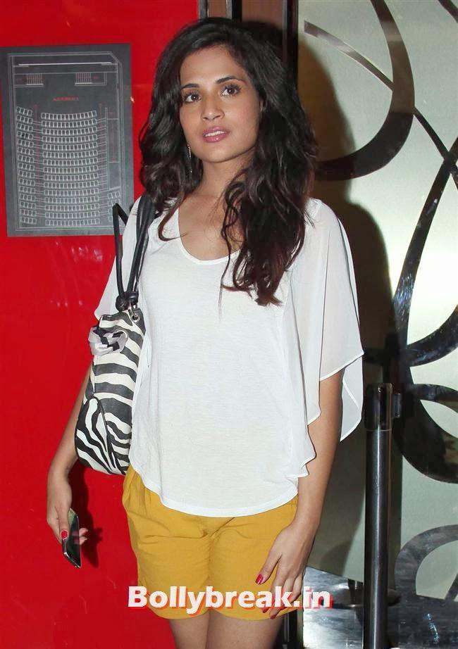 Richa Chadda, Richa Chadda & Geeta Basra Clicked at PVR Juhu