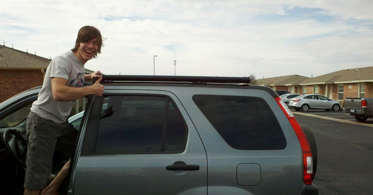 Dirtbagging In The 21st Century Diy Roof Rack