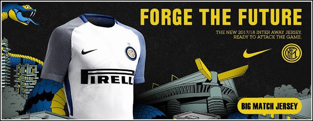 Nike Inter Milan 17-18 Away Kit Concept