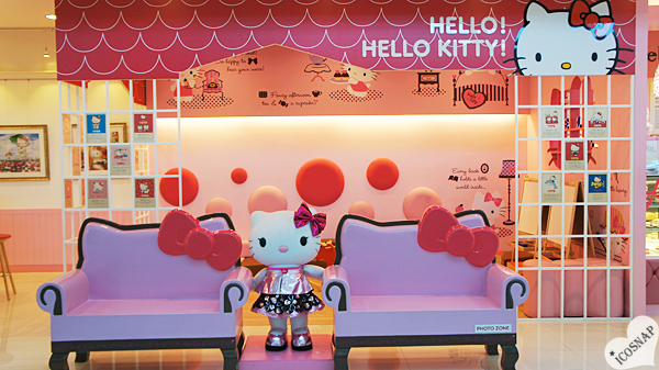 Hello Kitty Cafe in Seoul, Korea
