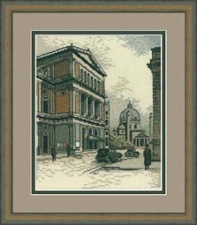 Схема вышивки рто старый город
