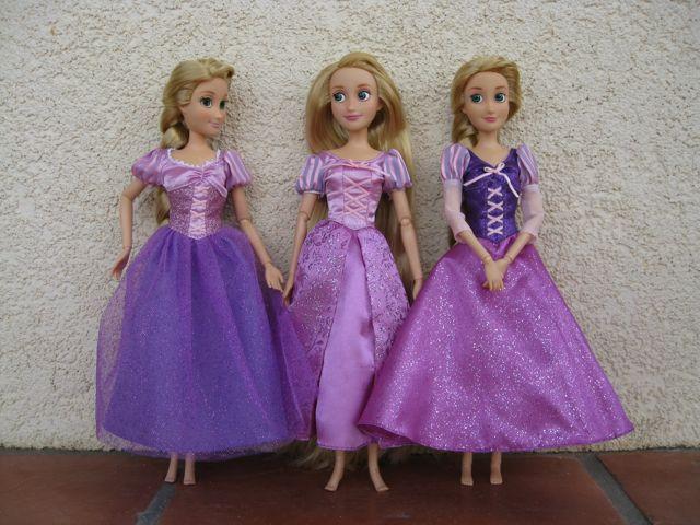 Rapunzel comparison Disney