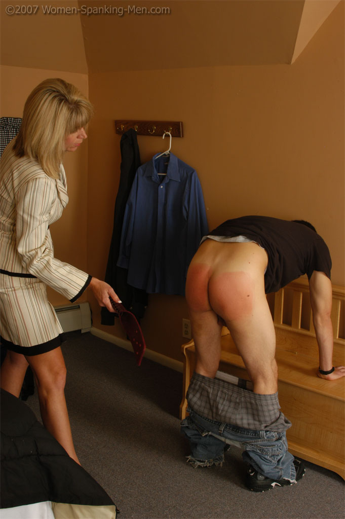 Thank Mature women domestic discipline pity