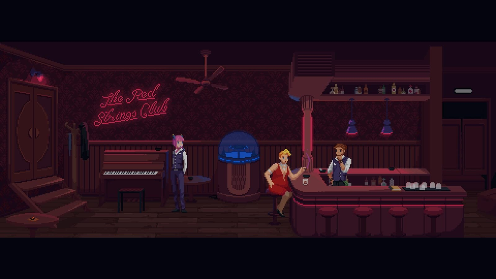 The Red Strings Club, Indie Game, SciFi, Cyberpunk, Review, инди-игра, киберпанк, фантастика, обзор, рецензия