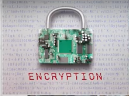 Click it to encrypt it ...
