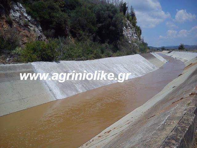Αποτέλεσμα εικόνας για agriniolke διώρυγ