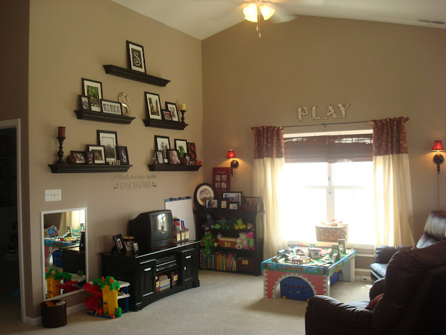 loft playroom space