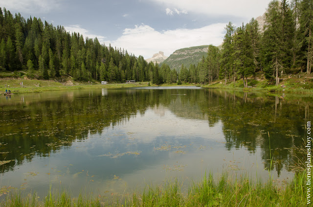 Dolomitas lago antorno viaje Italia
