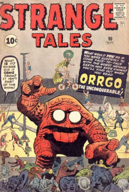 Strange Tales Lee-Kirby