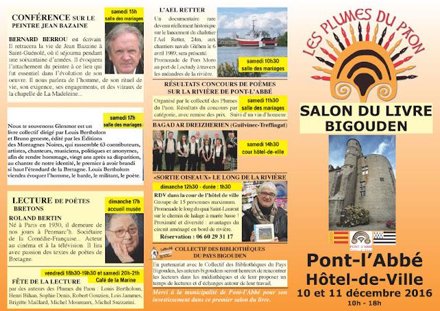 Salon du Livre Bigouden Pont-l'Abbé