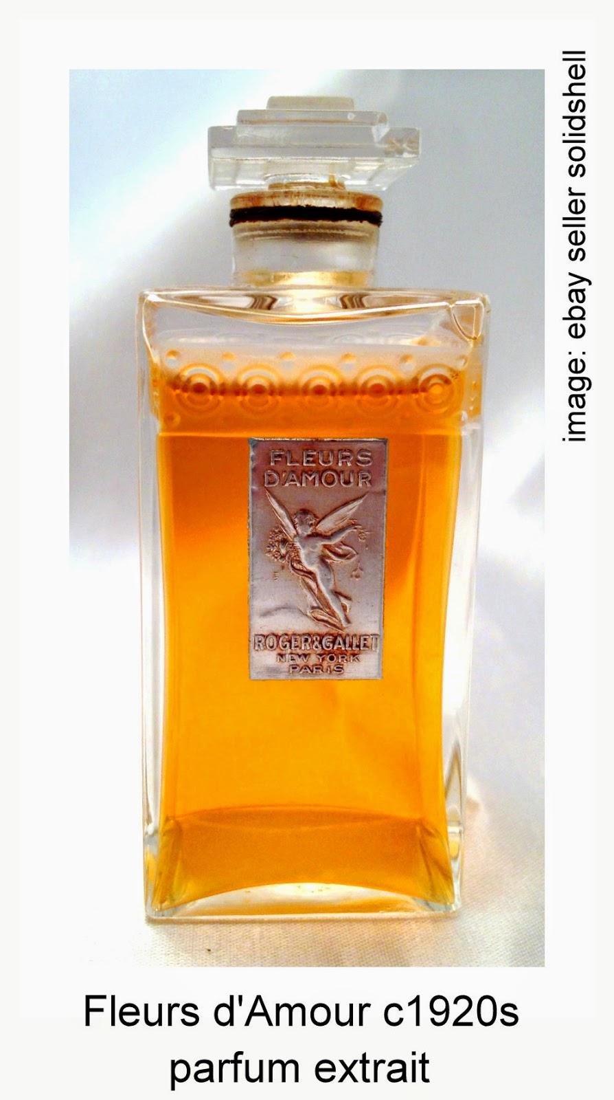 Cleopatra S Boudoir Fleurs D Amour By Roger Et Gallet C1902