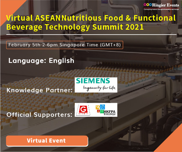 ICYMI: Virtual ASEAN Nutritious Food & Functional Beverage Technology Summit 2021