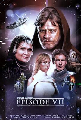 Star Wars Episode VII - Fan Made Poster