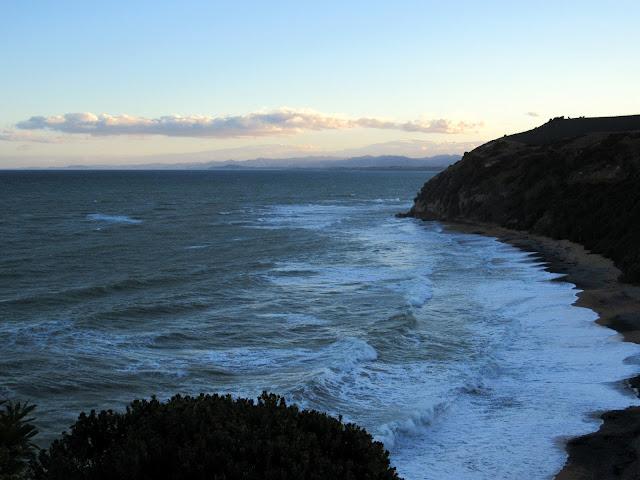 Atardeceren Bushy Beach
