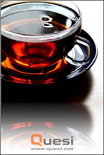 clean the window glass with thick tea water