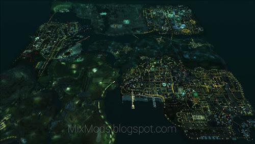 ver o mapa de san andreas inteiro distância de visão
