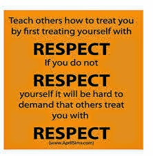 papers on respecting others Mr diamond ela- expository journal essay sample respect is the care and understanding of one human being for another i respect my family, education, and our planet.