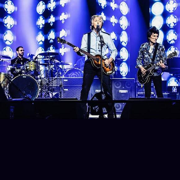 Le «Get Back» de Paul McCartney réunit Ringo Starr et Ronnie Wood