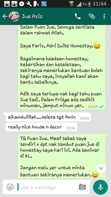 Homestay Seri Manjung Lumut - Review || Jue Aziz
