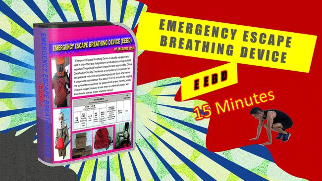 Menjual EEBD - Emergency Escape Breathing Device durasi 15 Menit