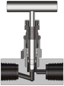 globe valve type needle