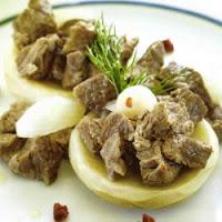 enginarı bir de kuzu etiyle pişirin