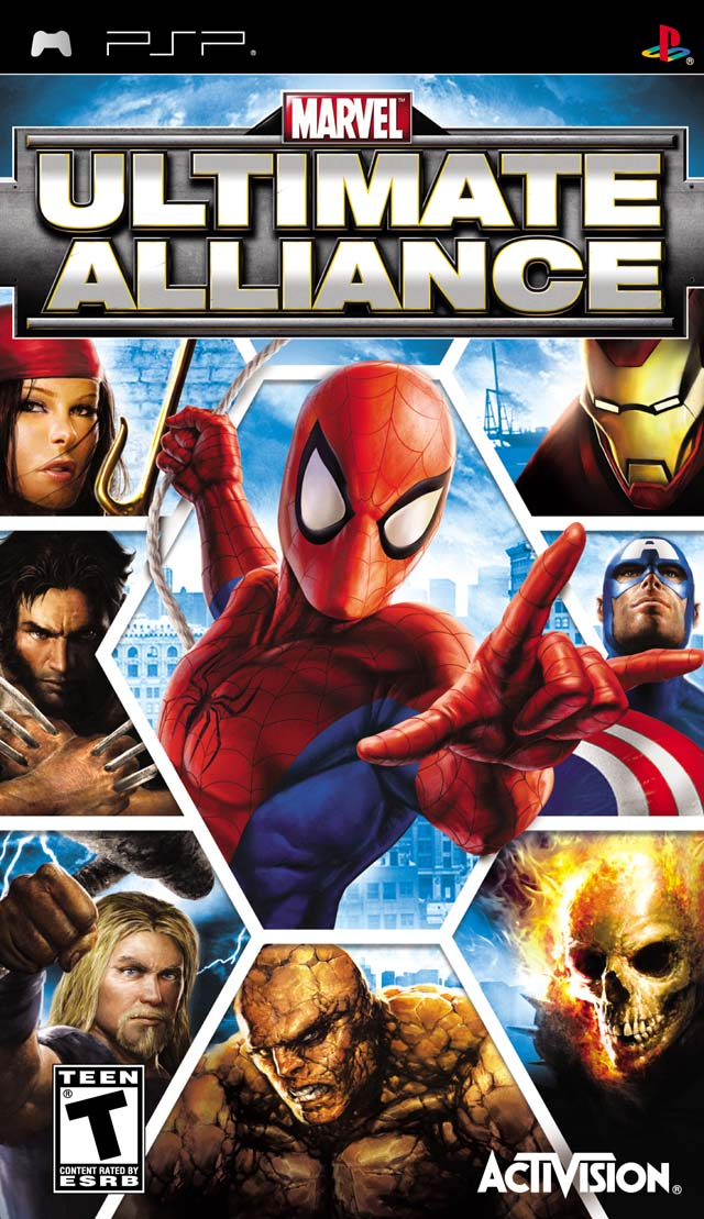 Marvel - Ultimate Alliance - PSP - ISO Download