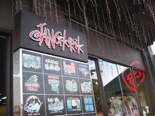 Cartoon Souvenirs Center in Bali