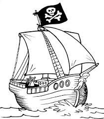 navio pirata, desebarque
