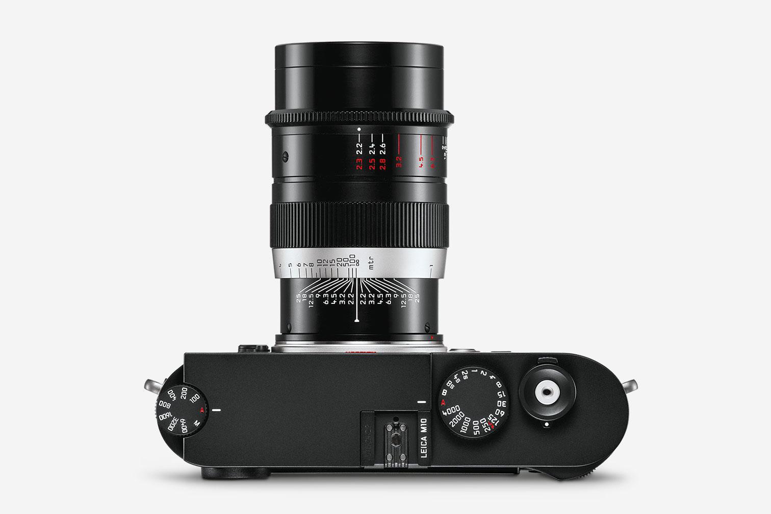 Leica Thambar M 90mm f/2.2 на камере