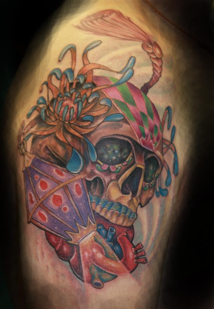 Pin Sugar Skull Tattoo on Pinterest