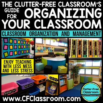 Learn how to end each school day with a clean and organized classroom with this classroom organization and management idea from The Clutter-Free Classroom.