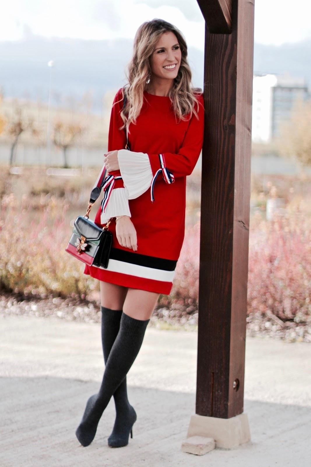 vestido estilo gucci
