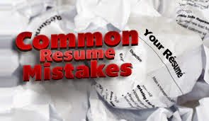 Top 5 Common mistakes people do in Resumes