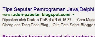 Cara Mudah Menampilkan Judul Postingan Di Pencarian Google