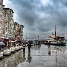 عاصفة مطرية شديدة صباح الغد في اسطنبول